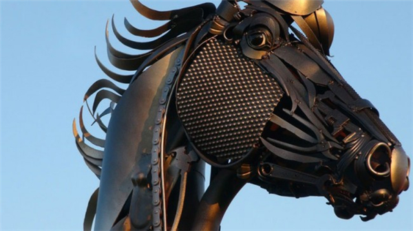 嚣张的金属雕塑(六)