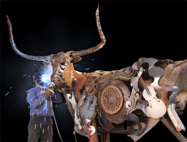 嚣张的金属雕塑(七)