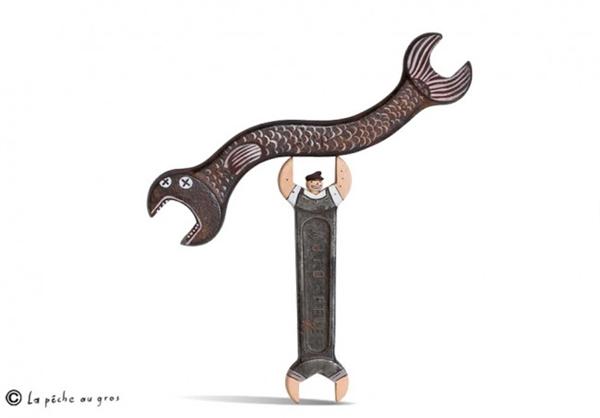 超现实主义插画雕塑(二十五)