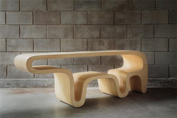 简洁可爱的熊桌设计(二)