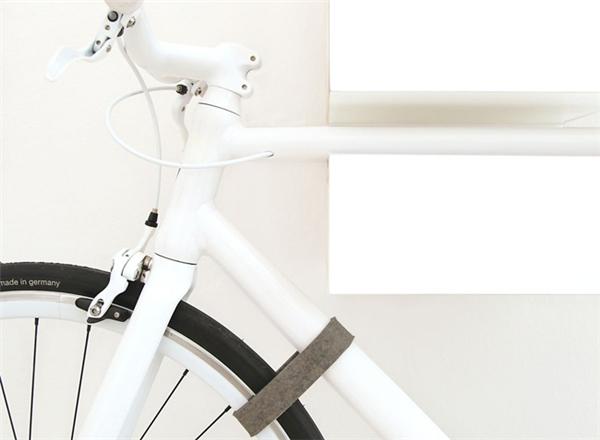 犀利的自行车壁挂支架(二)