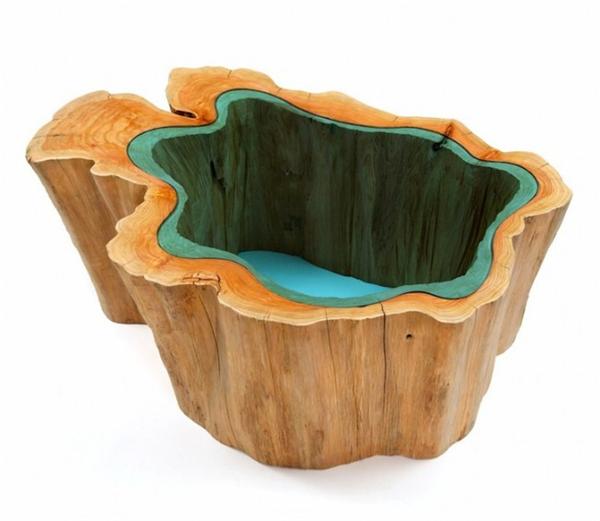 高端大气的玻璃河木桌(五)