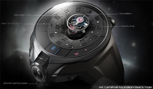 陀飞轮概念手表设计(三)
