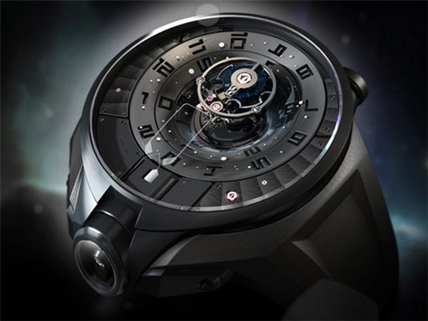 陀飞轮概念手表设计(二)