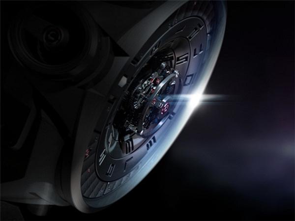 陀飞轮概念手表设计(四)