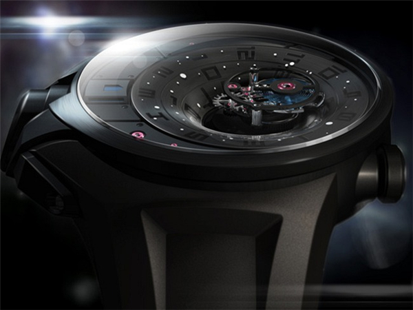 陀飞轮概念手表设计(五)