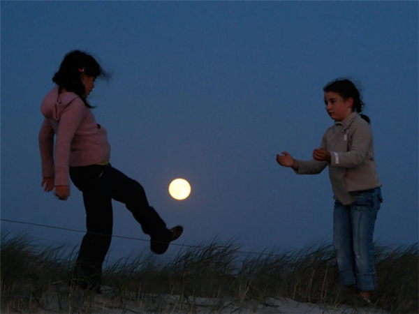 我和月亮玩游戏(三)