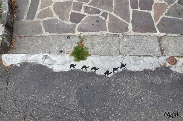 来自法国的幽默街头艺术(三)