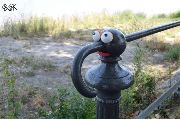 来自法国的幽默街头艺术(五)