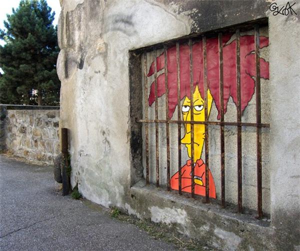 来自法国的幽默街头艺术(七)