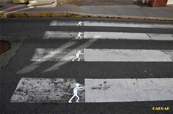 来自法国的幽默街头艺术(九)