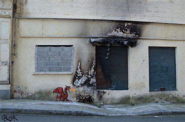 来自法国的幽默街头艺术(十五)