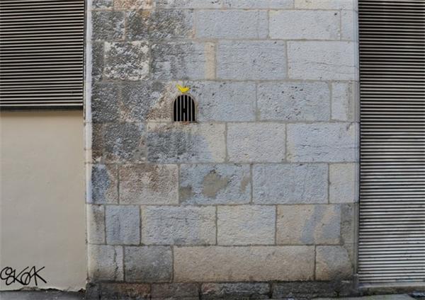 来自法国的幽默街头艺术(十七)