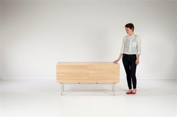 令人惊叹的力学木柜