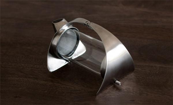 简约的不锈钢透明茶壶(五)