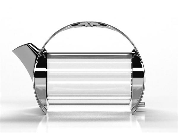 简约的不锈钢透明茶壶(七)