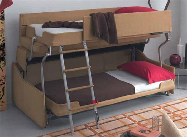 非常方便的上下铺沙发床(三)