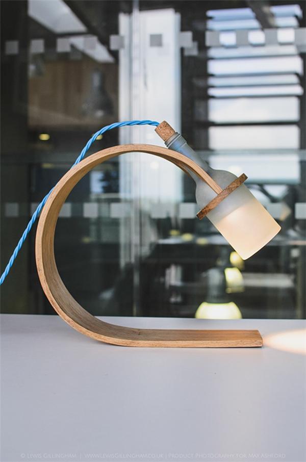 优雅的酒瓶灯设计(七)