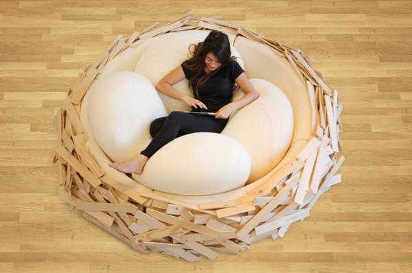巨型鸟巢家居设计(六)