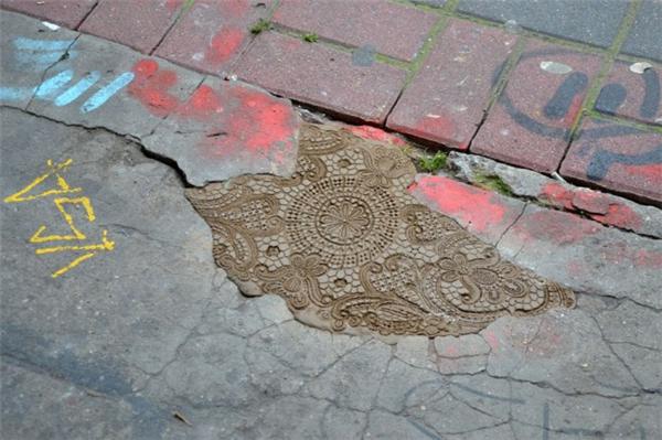 街头蕾丝艺术(四)