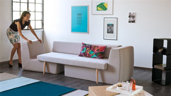 高级的模块化沙发(二)