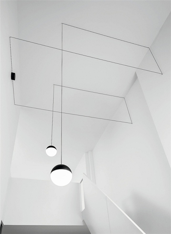 非常具有几何美感的吊灯(十)