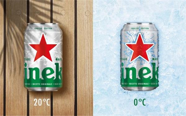 喜力啤酒冰罐设计