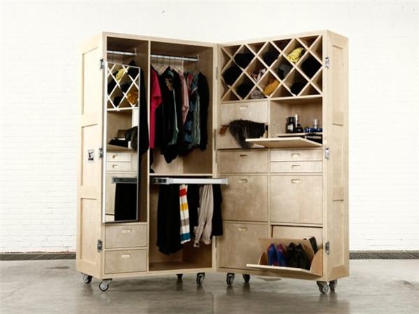 可活动的箱式家具