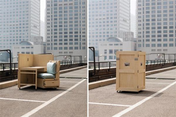 可活动的箱式家具(十四)