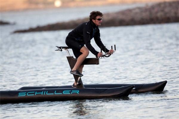嚣张到不行的水上自行车(四)