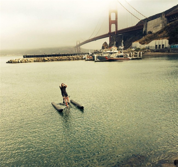 嚣张到不行的水上自行车(五)