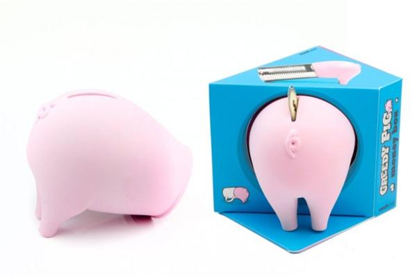 非常呆萌的贪吃猪存钱罐(四)