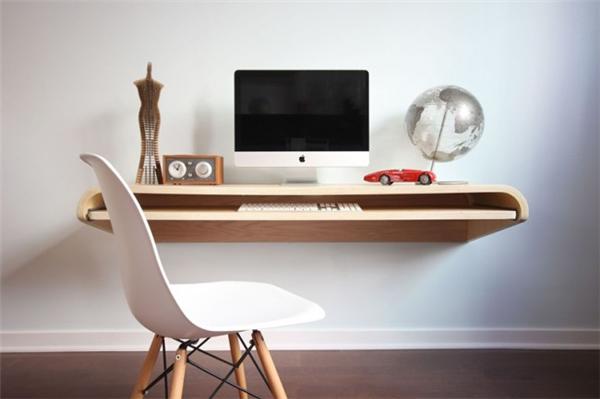极简风格的设计工作台