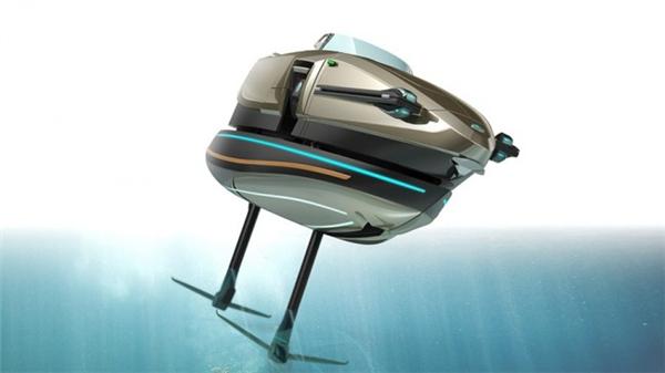 霸气侧漏的敞篷概念船(二)