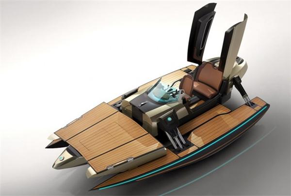 霸气侧漏的敞篷概念船(五)