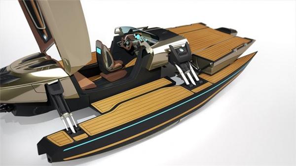 霸气侧漏的敞篷概念船(九)
