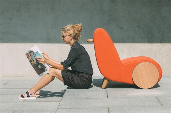 有点意思的休闲椅