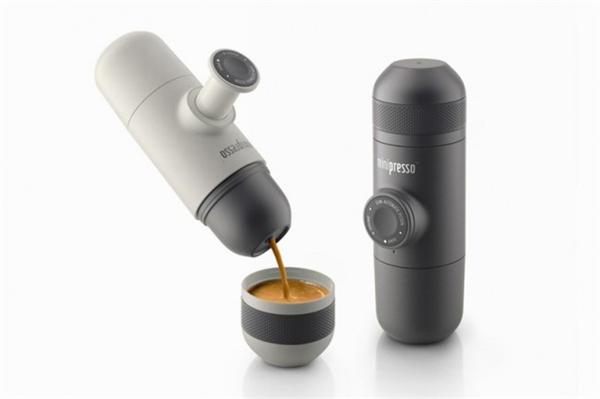便携式手压咖啡机