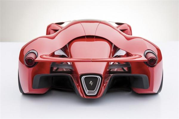 法拉利F80霸气概念跑车(二)