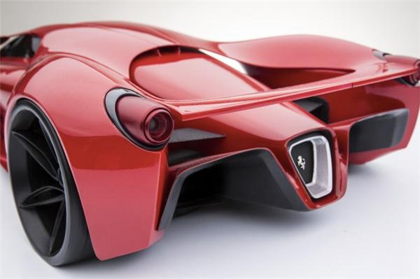 法拉利F80霸气概念跑车(六)