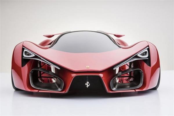 法拉利F80霸气概念跑车(七)