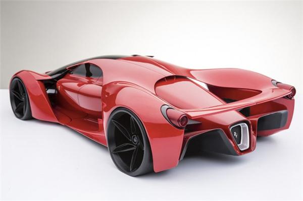 法拉利F80霸气概念跑车(八)