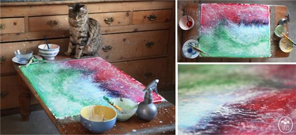 5岁自闭儿童的绘画和生活(五)