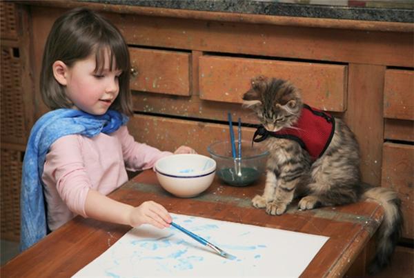 5岁自闭儿童的绘画和生活(十二)