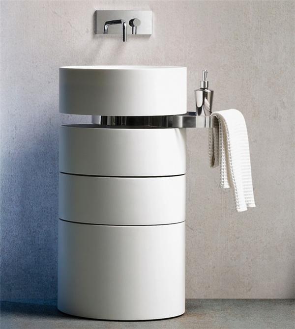 可以旋转的浴室水槽(三)