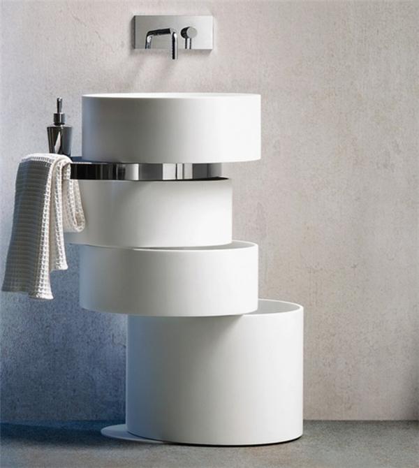 可以旋转的浴室水槽(四)