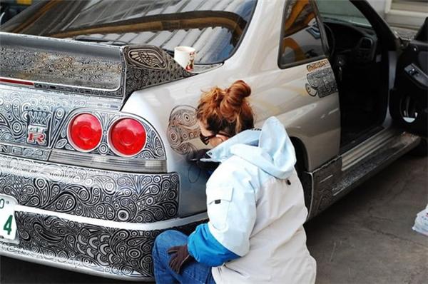 当汽车发烧友遇上艺术家