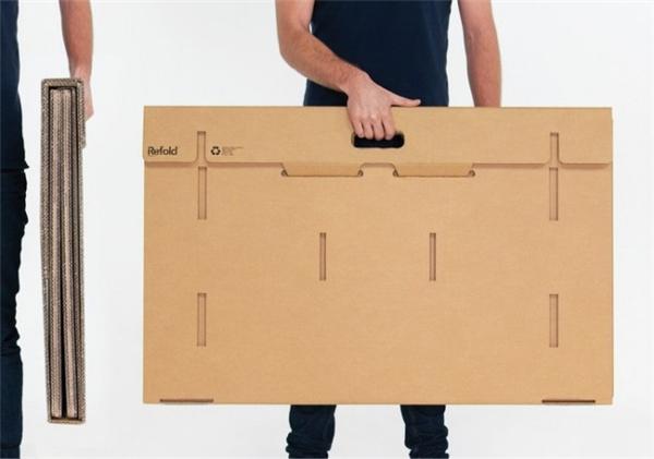 酷且方便的纸板折叠桌(二)
