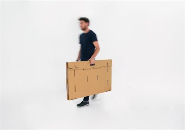 酷且方便的纸板折叠桌(三)