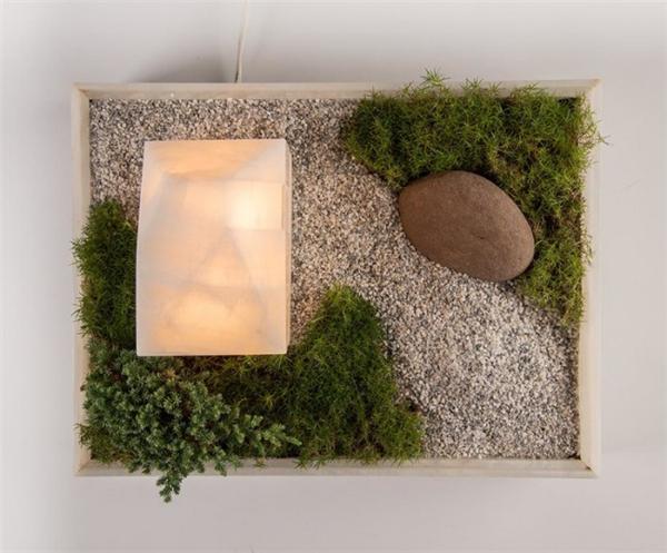 温馨的花盆台灯(三)